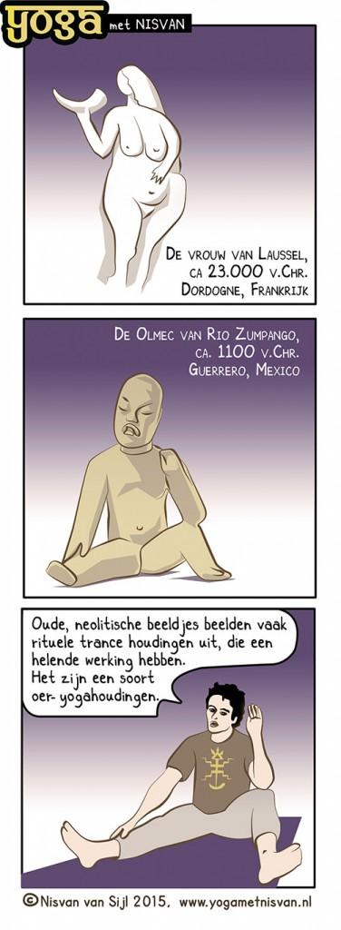 yoga met Nisvan-trance-houdingen